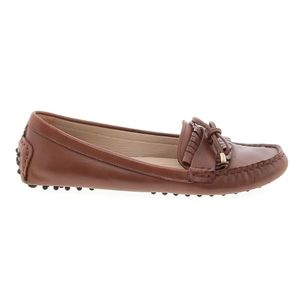 Massimo Dutti Brown Loafers Driving Moccasin
